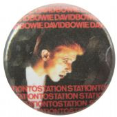 David Bowie - 'Station to Station' Button Badge